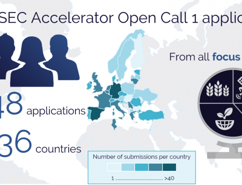 PARSEC Accelerator Open Call 1 attracted many European innovators from all focus sectors